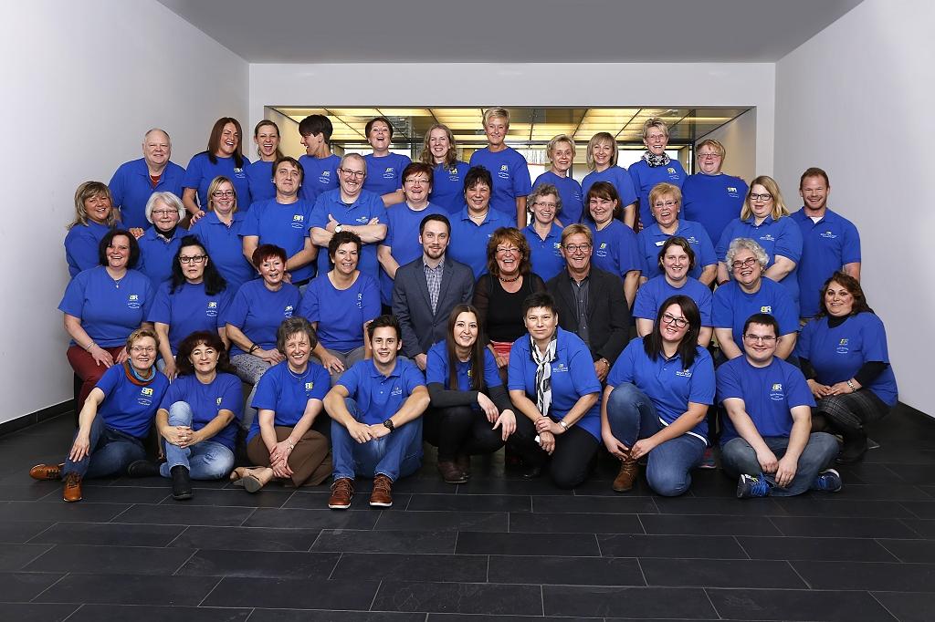 Team der Mobilen Senioren- und Krankenpflege Birgit Rückert