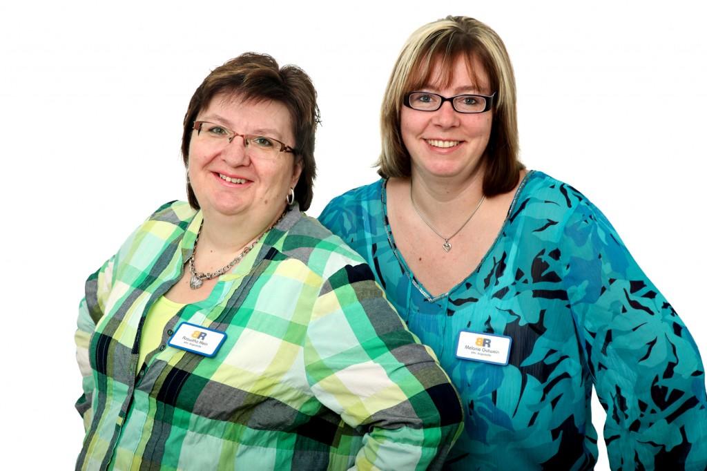 Verwaltung - Roswitha Klein & Melanie Gutwein